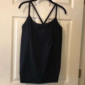 UnderArmour Tank with Built-in Sports Bra